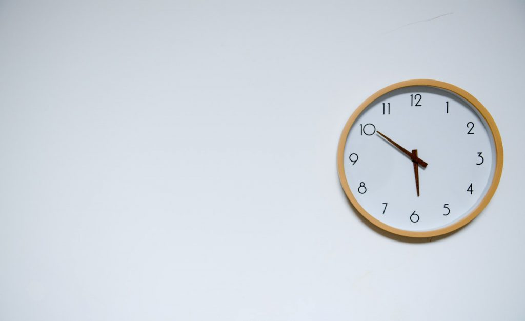 a clock on the wall